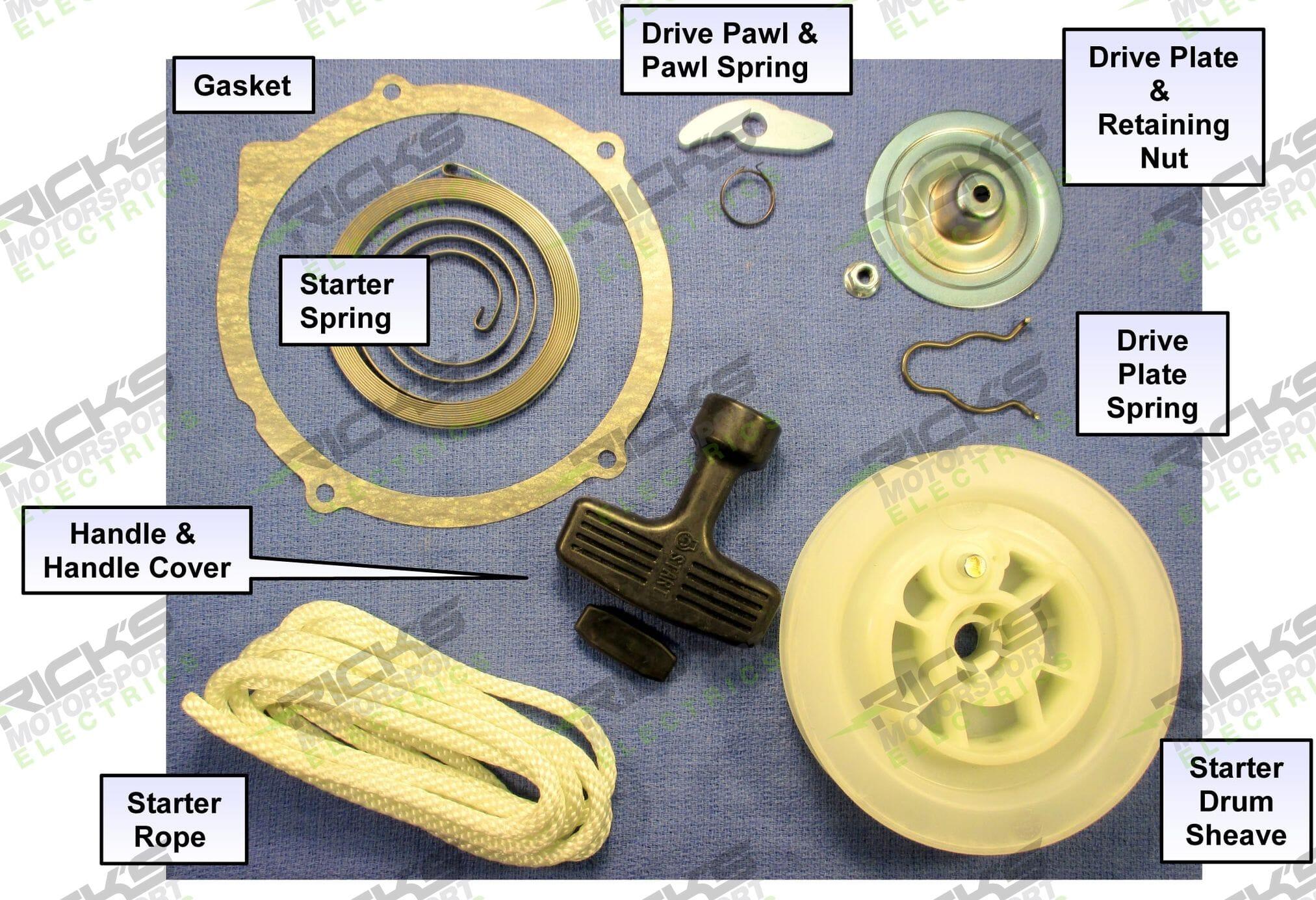 Yamaha Pull Start Rebuild Kit 67_400