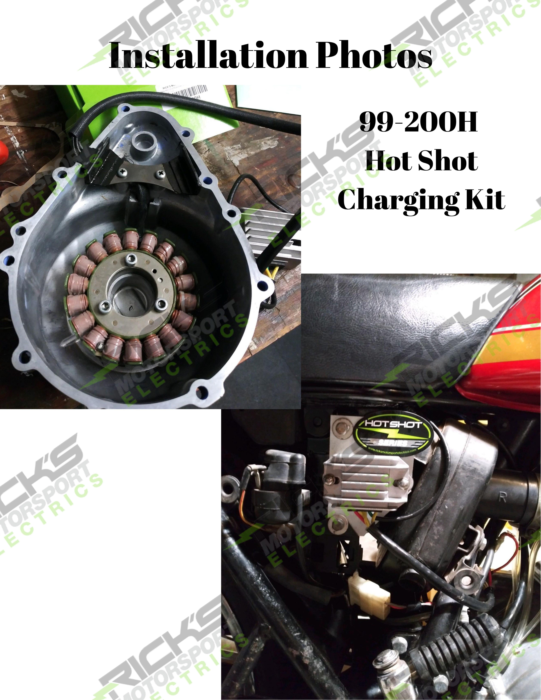 New Hot Shot Series Kawasaki Charging Kit 99_200H #3